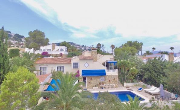 Villa Girasol Moraira met privé zwembad VT-460992-A