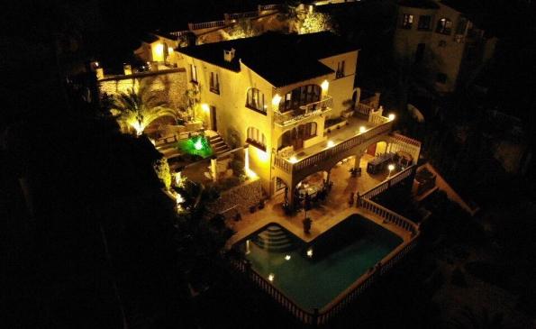 Luxe villa Moraira El Portet met prive zwembad 8 personen VT-471733-A