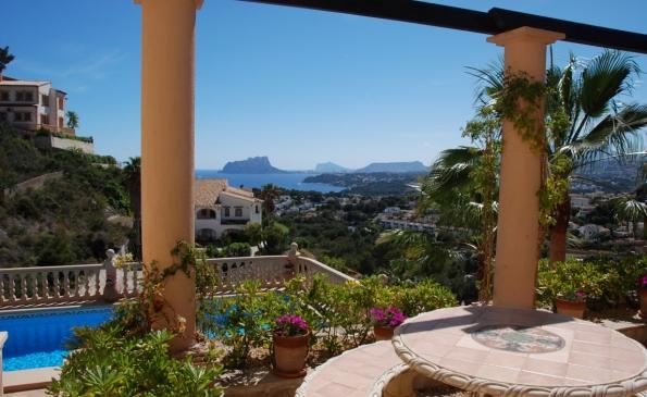 Luxe villa Moraira El Portet met prive zwembad 6 personen VT-471733-A